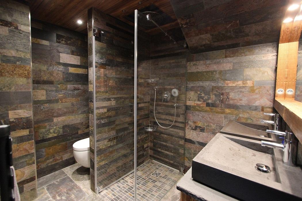 Montagne et prestige location d 39 appartements et de chalets for Salle de bain optimisee